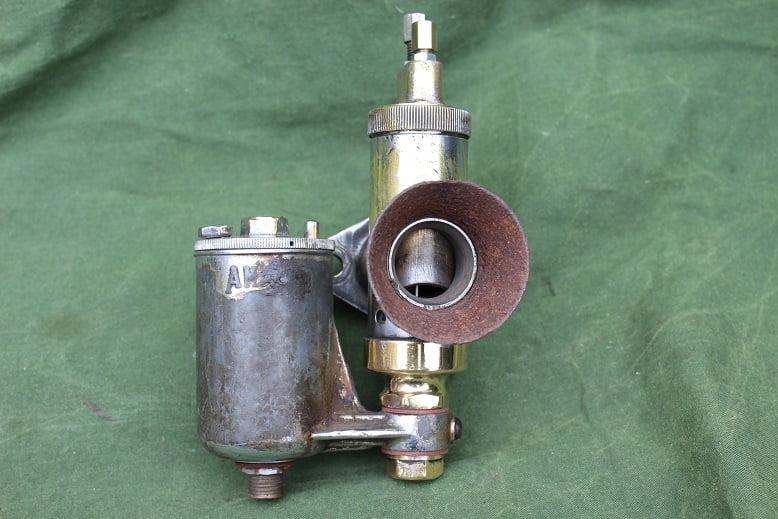 AMAL 6/010 bronzen carburateur brass carburettor vergaser 1930's motorcycle