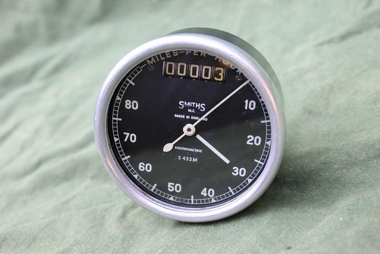 SMITHS S433 M 80 miles chronometric mijlenteller speedometer tacho WD ??