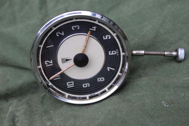 DKW auto klok 1951 PKW uhr car clock