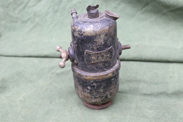 POWELL & HAMMER P&H 1920's carbid potje acetylene generator karbid behalter