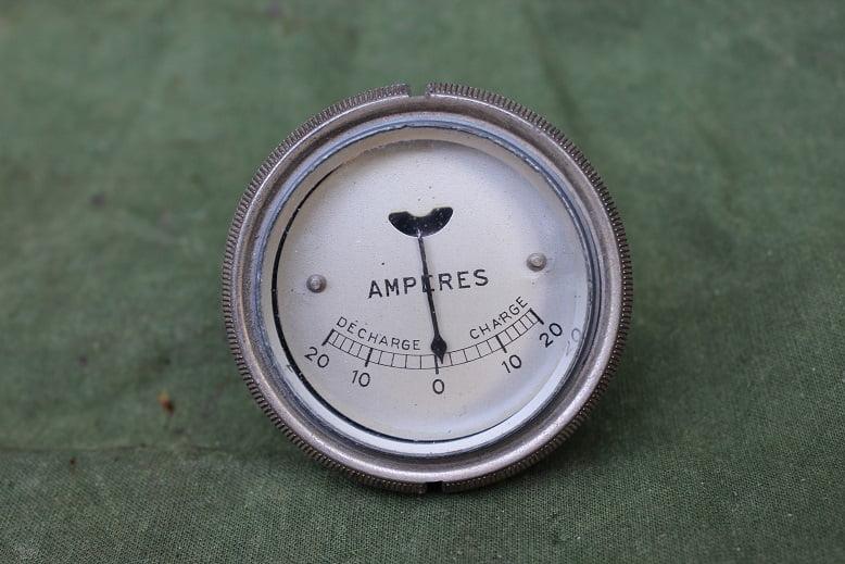 20-20 ampere meter ammeter