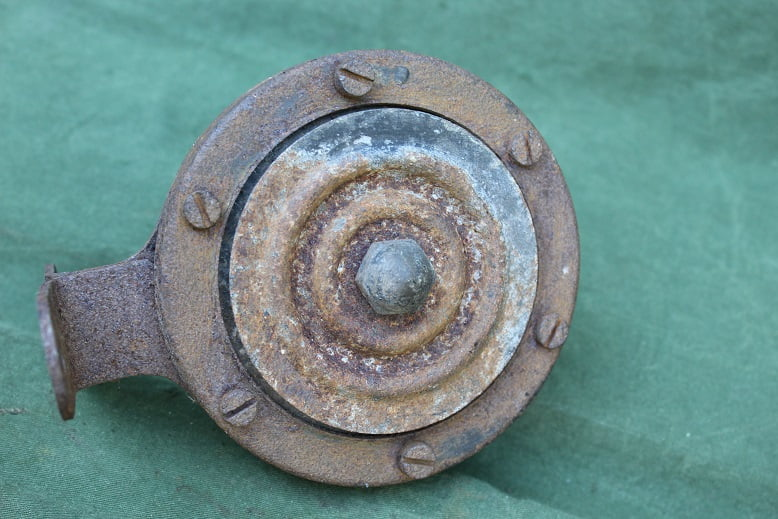 LUCAS ALTETTE HF1235  1955 12 volts claxon horn hupe klaxon HF 1235