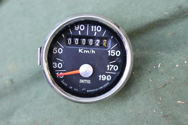 SMITHS  SSM 2001/08 190 kilometer teller speedometer tacho 190 KM