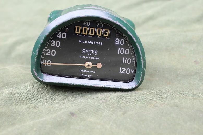 SMITHS S643/K 120 km chronometric kilometer teller speedometer tacho