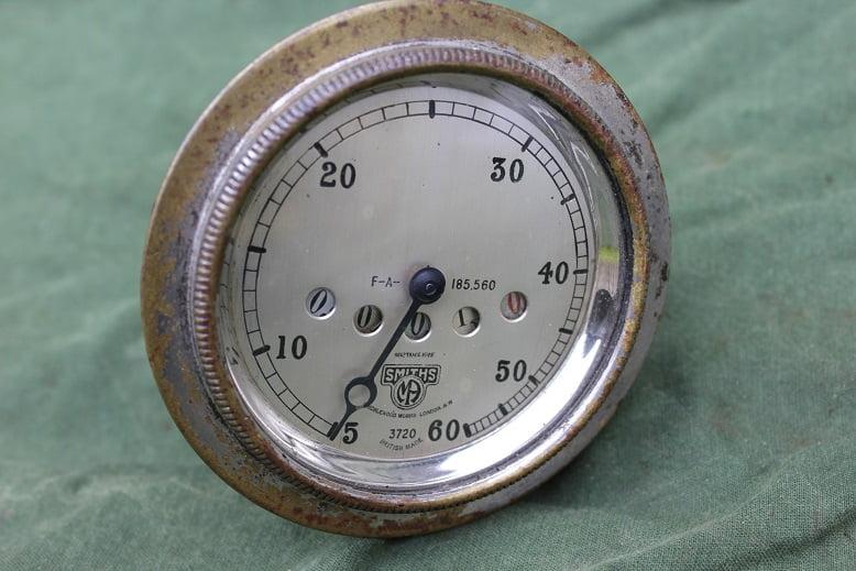 SMITHS F-A 60 miles 1920's speedometer tacho mijlenteller jaren 20