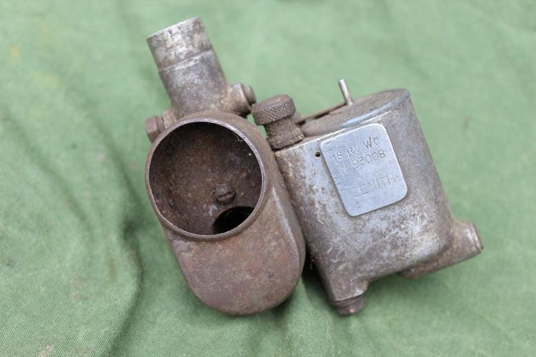 ZENITH 18RV W0 carburateur vergaser carburettor stationair engine ?