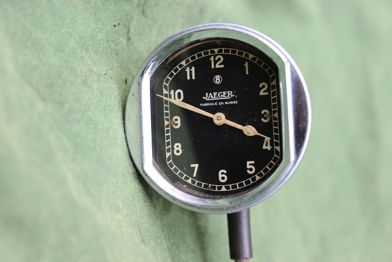 JAEGER 2 inch 8 day clock 1930's  8 daags klokje