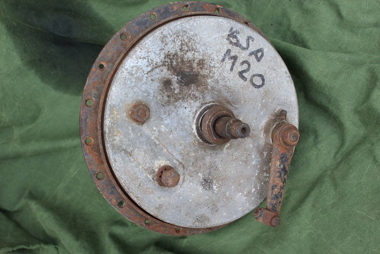BSA M20  AJS Matchless frontwheel hub voorwiel naaf 1950's ? vordernabe