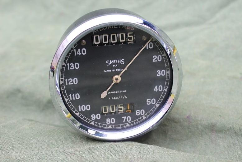SMITHS S 433/5/L 140 KM chronometric kilometerteller speedometer tacho