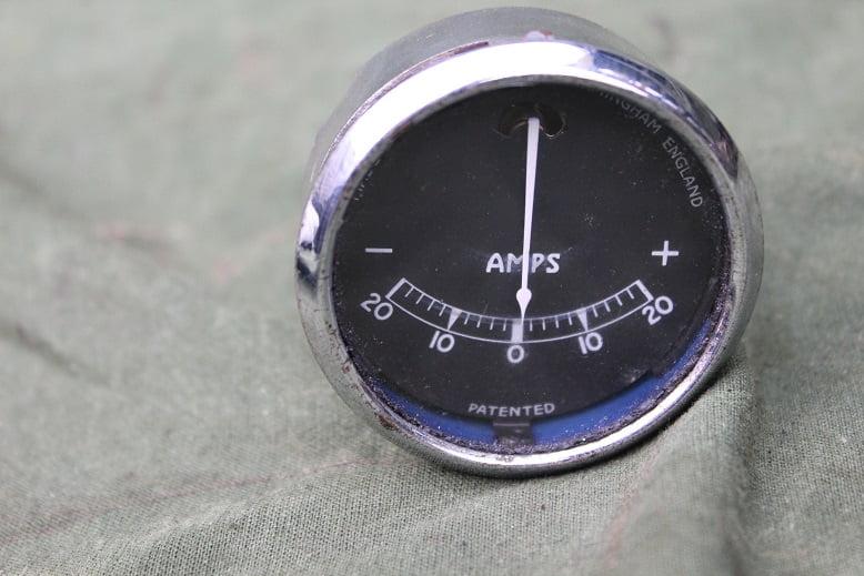LUCAS 20 – 20 type BM ampere meter ammeter