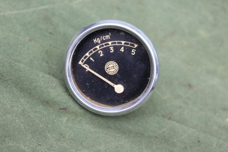 VDO olie drukmeter oil pressure gauge 1930 / 1940 52 mm 2″