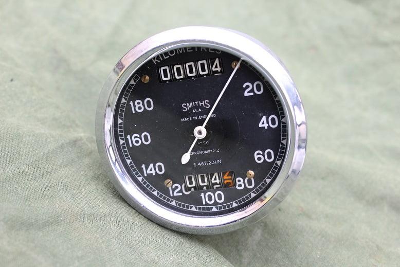 SMITHS  S467/231/N 180 KM chronometric 180 KM tellerspeedometer tacho Triumph ??