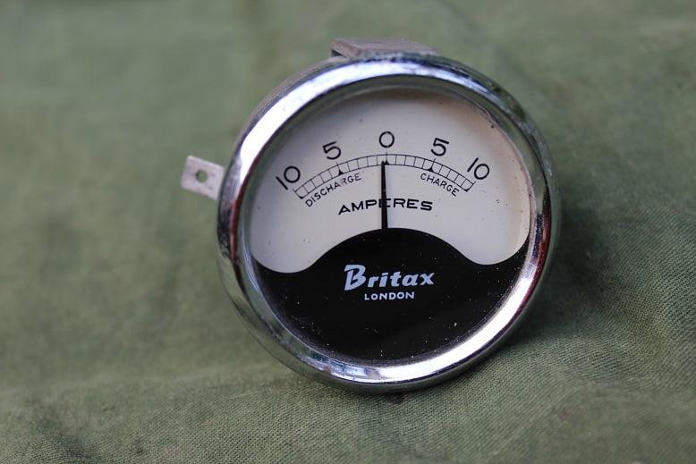 BRITAX LONDON 10 – 10 ampere meter ammeter