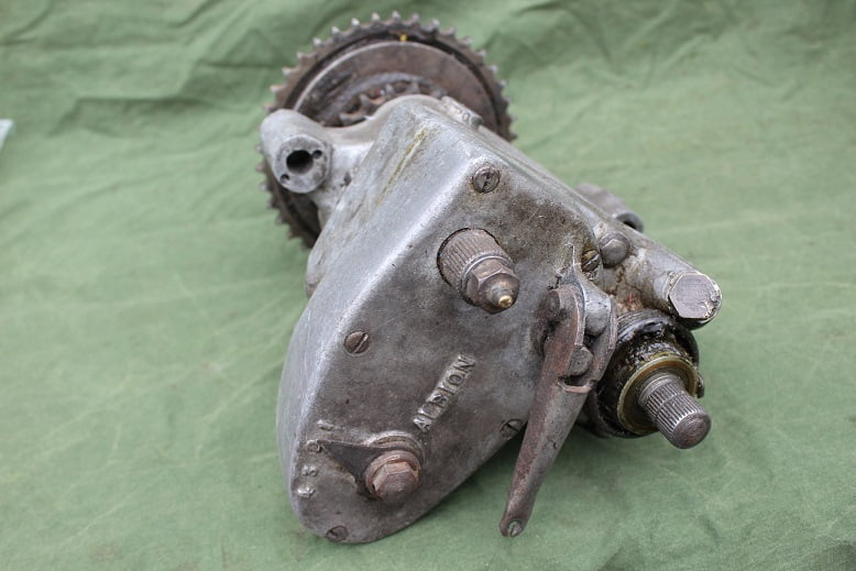 ALBION 4 speed 1930's gearbox versnellingsbak getriebe Calthorpe ? Enfield ? Excelsior ?