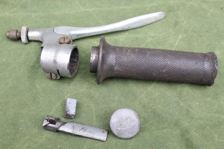 MAGURA 1950's gas / rem hendel NSU ? DKW ? gas / bremshebel frontbrake lever / throthle