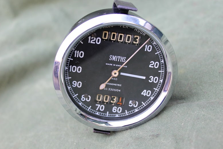 SMITHS SC 3305/04 120 miles chronometric speedometer mijlenteller tacho
