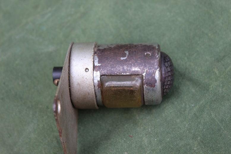motorfiets achterlicht jaren 30/40 motorcycle rearlight  UK ?? rucklicht
