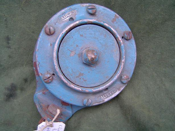 LUCAS ALTETTE HF 1235 6 volts claxon horn hupe 1948