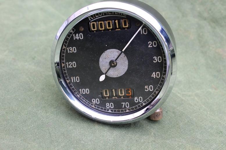 SMITHS  140 KM chronometric kilometer teller GREMI speedometer tacho
