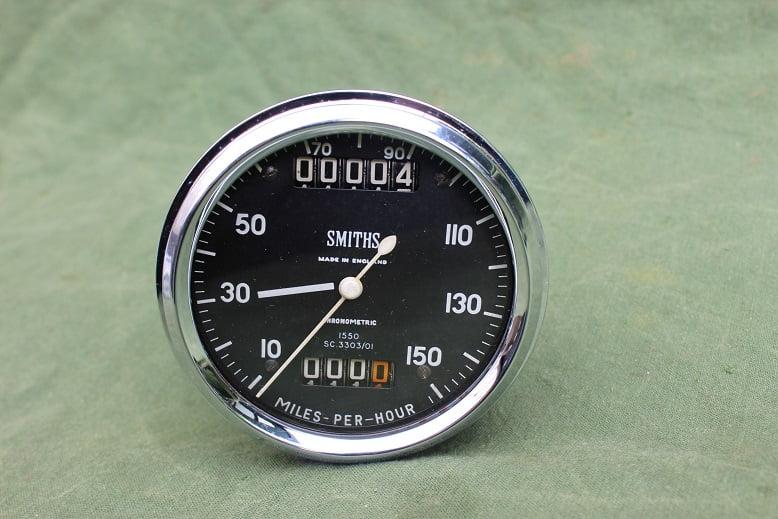 SMITHS SC3303/01 150 MPH chronometric speedometer mijlen teller tacho