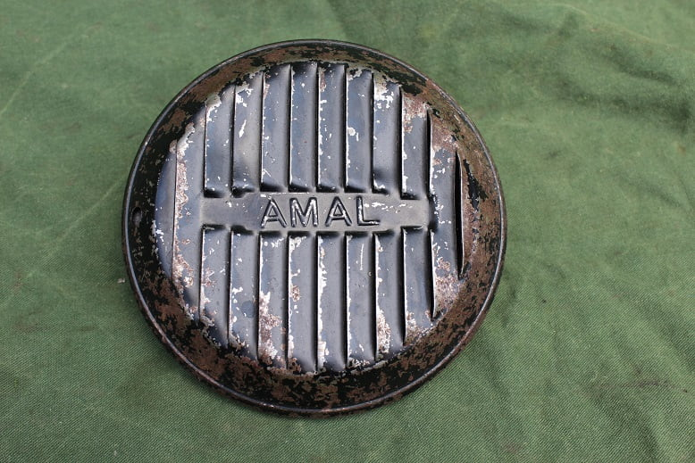 AMAL luchtfilter ARIEL SQUARE FOUR ?? air cleaner luftfilter