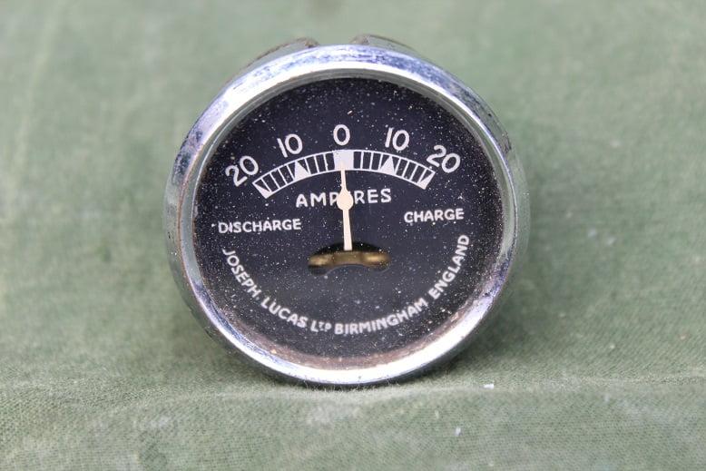 LUCAS CZ30 L2 1937 20 – 20 ampere meter ammeter