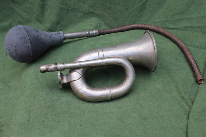 CICCA PARIS baltoeter bulbhorn ballhupe 1915 ? horn hupe klaxon