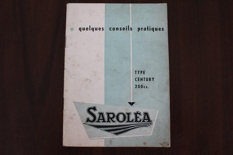 SAROLEA  type CENTURY 200 cc Quelques conseils pratiques owner's manual