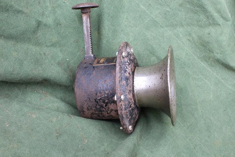 STEWART WARNER typ 115 A 1915 – 1925 druk claxon horn hupe klaxon AGOOOH USA
