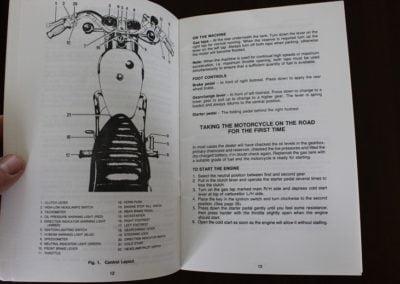 TRIUMPH    1979    BONNEVILLE    750 owner   s handbook   Simons Old
