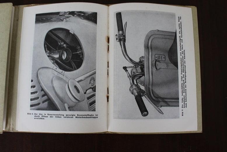 Puch Typ Rl 125 Roller Scooter 1954 Betriebsanleitung
