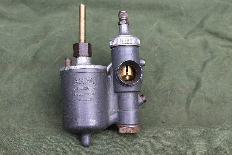 AMAL FISCHER  68/412 ND carburateur vergaser carburettor DKW RT NSU ?? SOLD
