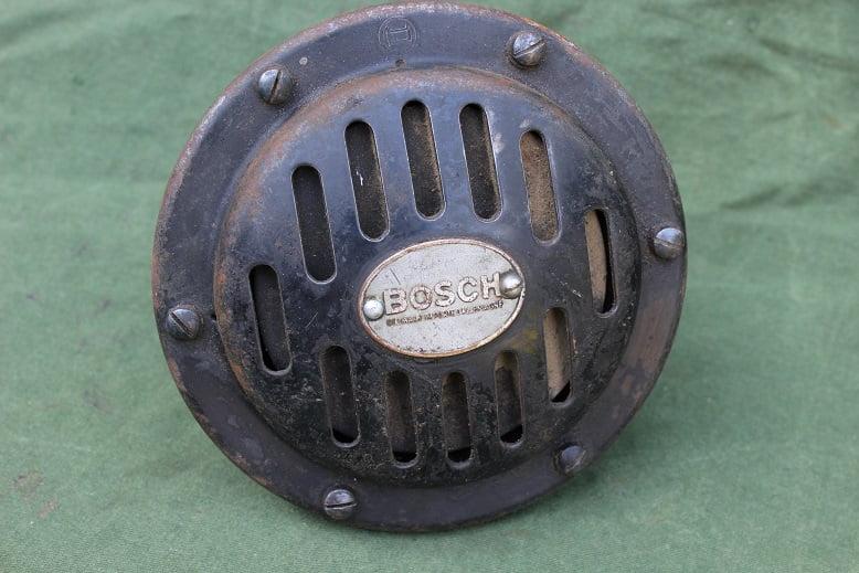 BOSCH FD6CS13 6 volts claxon horn hupe 1930's FD6 CS13 klaxon