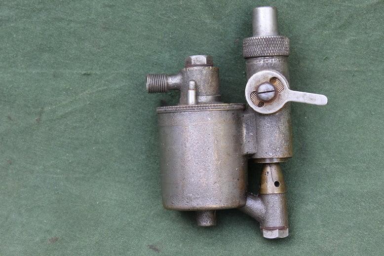 bronzen carburateur 1915 / 1920 ALCYON ?? carburettor vergaser