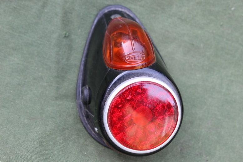 HELLA 1950's motorfiets achterlicht rucklicht rearlamp BMW ?? DKW ??