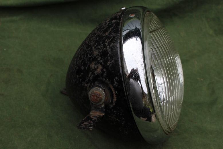 LUCAS SS700P 1950's ? motorfiets koplamp headlamp scheinwerfer SS 700 P BSA ??