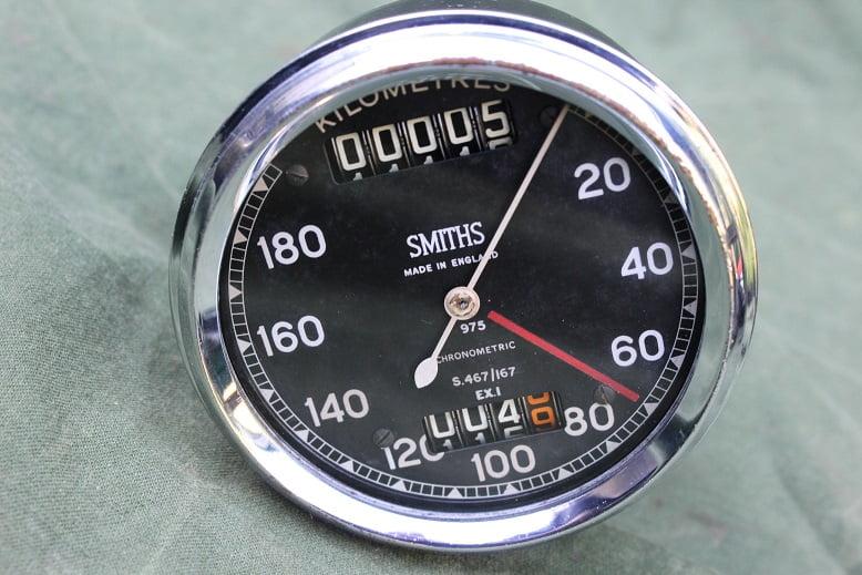 SMITHS S467/167 180 KM chronometric kilometer teller tacho speedometer