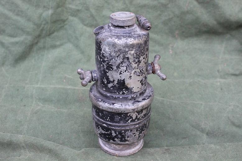 POWELL & HAMMER 1920's carbid generator acetylene generator karbid behalter