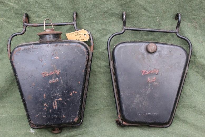 HANDY CAN en gereedschaps trommel jaren 50 hulpmotor hilfmotor cyclemotor