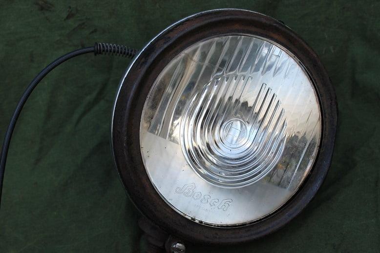 BOSCH ES150 1930's motorfiets koplamp headlamp scheinwerfer ES 150 HELD reserved