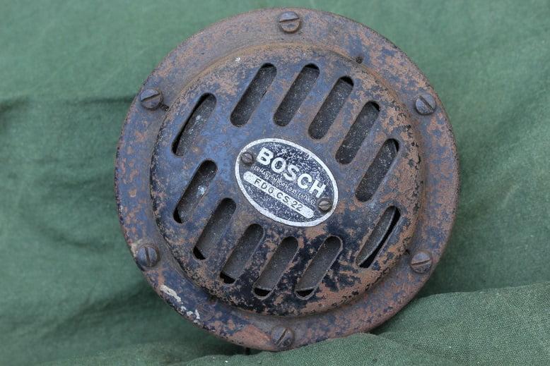 BOSCH FD6 CS22 6 volts claxon horn hupe klaxon 1930's