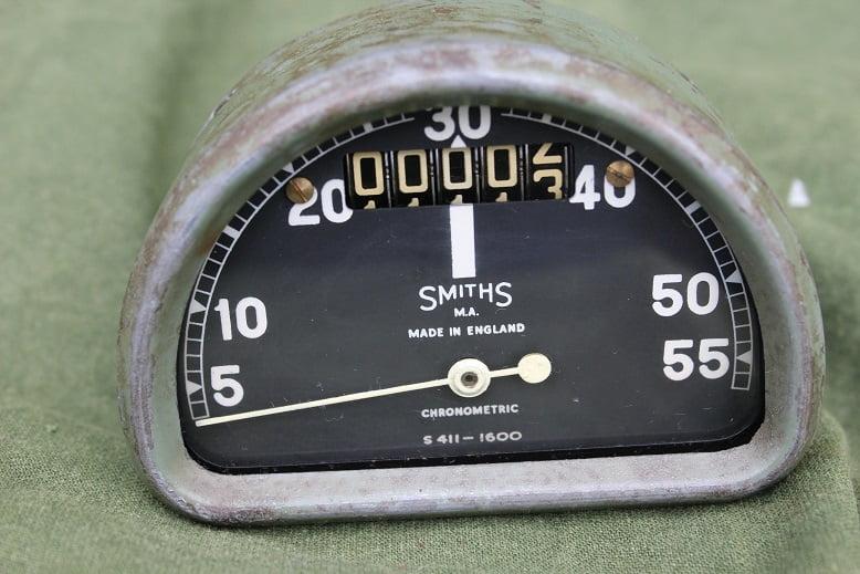 SMITHS S411-1600 55 MPH chronometric D type speedometer tacho mijlenteller BSA BANTAM ??