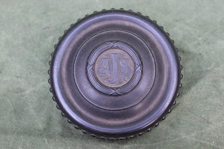 AJS stuurdemper knop steering damper knob 1940 / 1950