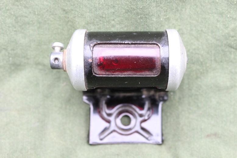 motorfiets achterlicht 1940's / 1950's german motorrad / cyclemotor rucklicht rearlight