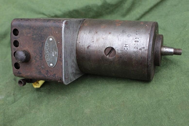 BOSCH RD1/2U30/6/2000LS dynamo generator lichtmachine 1930's