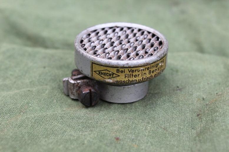 KNECHT luchtfilter hulpmotor cyclemotor air cleaned air filter luftfilter 1950's