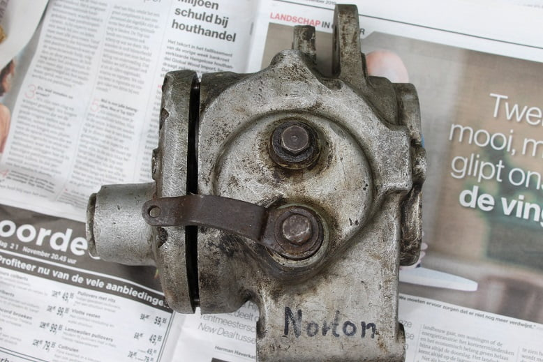 NORTON 1930 's / 1940's versnellingsbak delen gearbox parts getriebe teile
