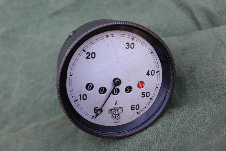 SMITHS A 1920's 60 mijlen teller speedometer tacho