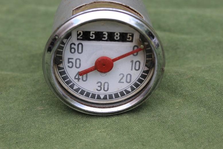 O.K. 60 km teller speedometer tacho 1955