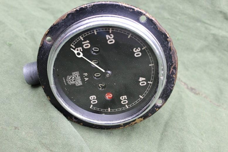SMITHS PA 60 miles speedometer mijlenteller tacho 1930's angled drive
